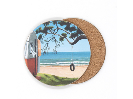 Graham Young Tyre Swing Coaster