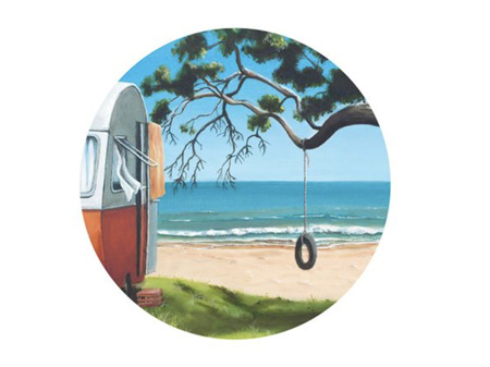Graham Young Tyre Swing Placemat