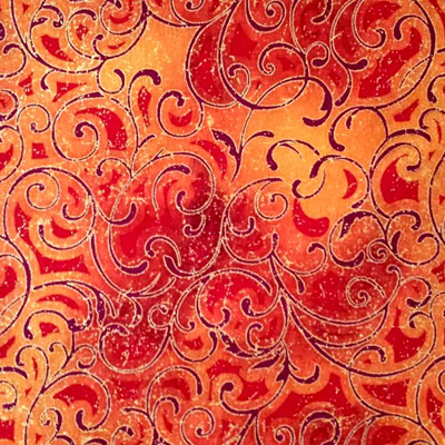 Grand Illusions Swirl Orange