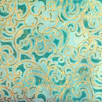 Grand Illusions Swirl Teal