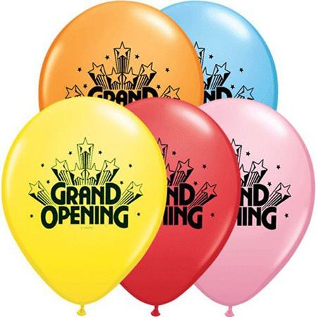 Grand opening balloon