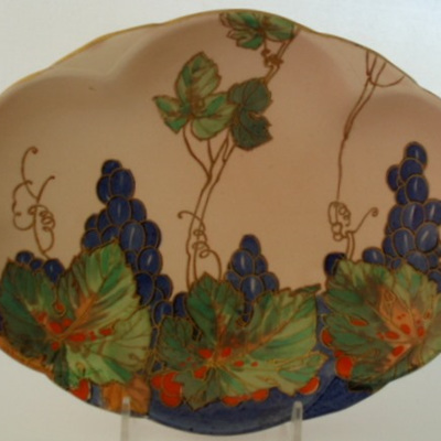 Grapes and leaves pattern Royal Doulton