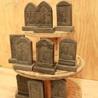 Gravestone Centerpieces