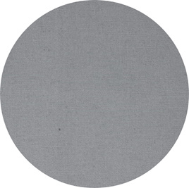 """Gray"" GOTS Organic Cotton Canvas - Heavy Duty"