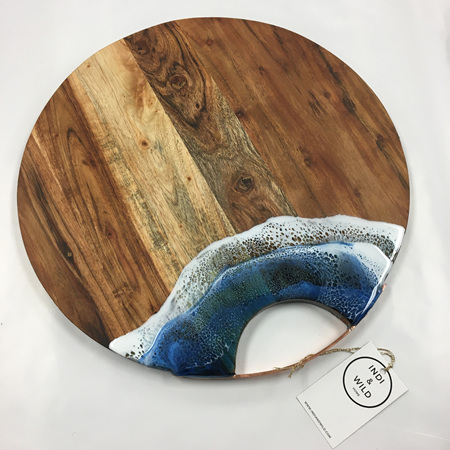 Grazing Platter Round with Metal Handle (40cm)