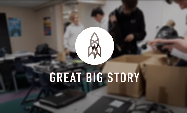 Great Big Story showcasing Remojo Tech & Aotea College BYOD Support working hard
