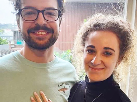 Great Gemstones from his Great Grandmother: Josh and Marcie's Family Heirloom Engagement Ring