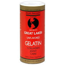 Great Lakes Unflavoured Gelatin - Collagen Joint Care 454gm
