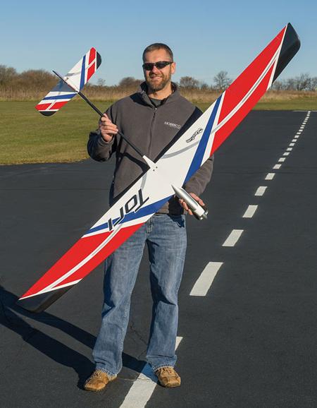 Great Planes Tori 2m EP Glider Plug-N-Play