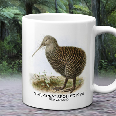 NZ Spotted Kiwi Mug