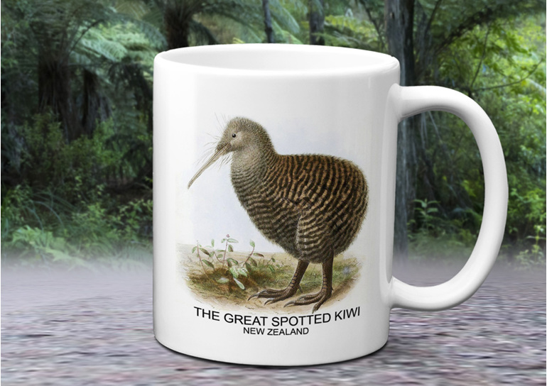 Great Spotted Kiwi Mug