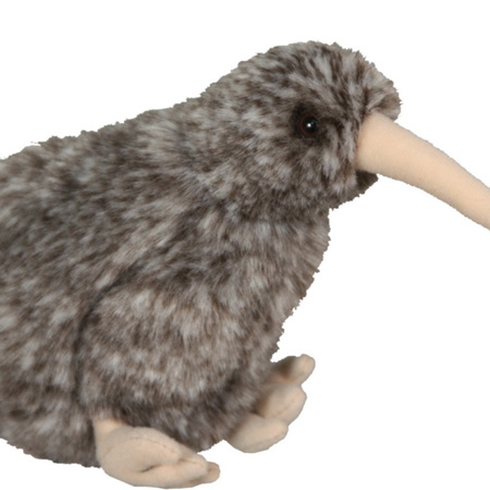 Great Spotted Kiwi with sound soft toy PLU3081