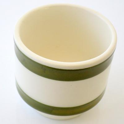 Green and cream stripe