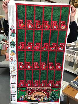 Green and Red Advent Calendar