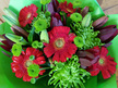 Green and Red Bouquet