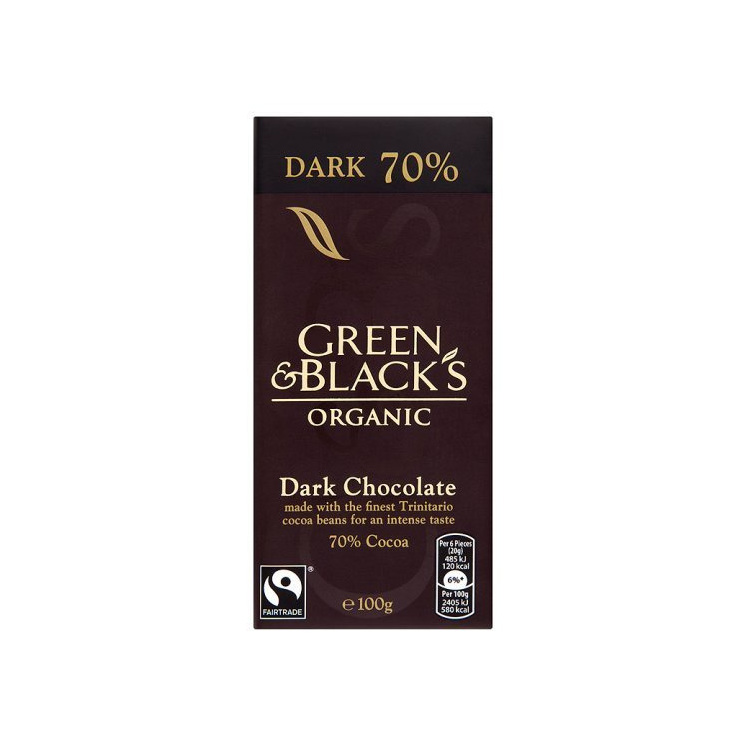 Green & Blacks Organic Chocolate Bars 100g