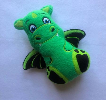 Green Boy Dragon Soft Toy