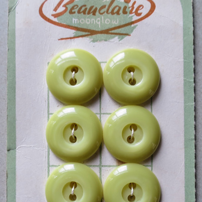 Lime green buttons