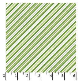 Green Candy Can Stripe 9378-G