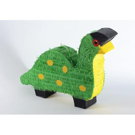 Green dinosaur pinata - large