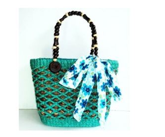Green Ella Bag - Free Shipping