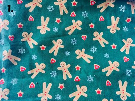 Green Fabric Tones Lot 1