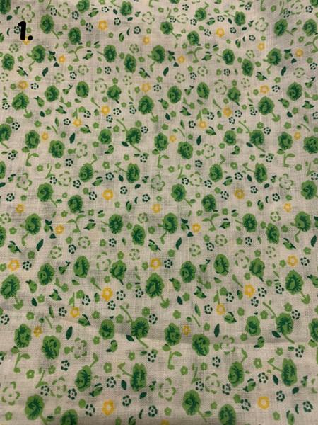 Green Fabric Tones Lot 2