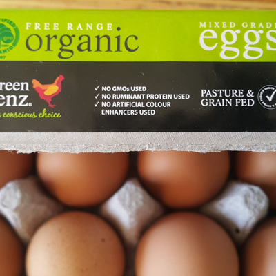 Green Henz Organic Free Range Eggs