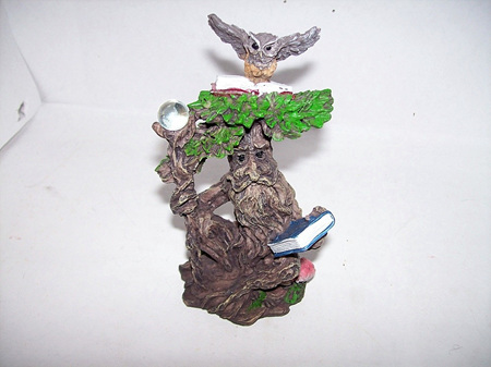 Green Man With Owl Type A