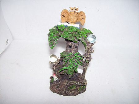 Green Man With Owl Type C