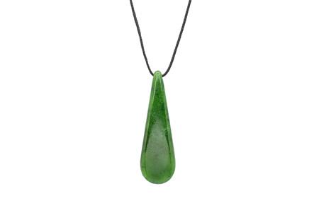 Green Pounamu Jade Pendant
