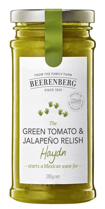 Green Tomato & Jalapeno - 265g