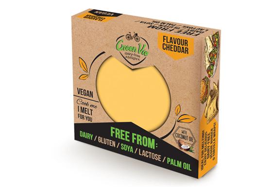 Green Vie Cheese Block