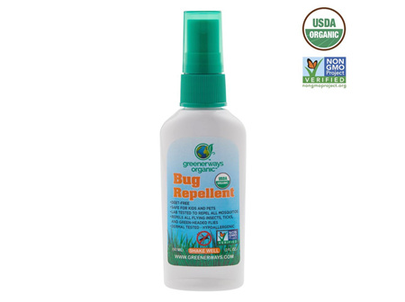 GREENERWAYS ORGC BUG REPELL 60ML