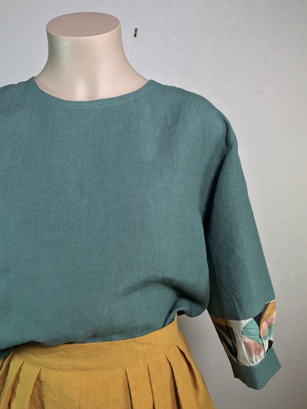 Greenstone Folklore blouse
