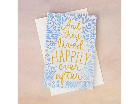 Greeting Card-Happily Ever After