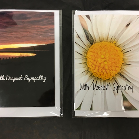 Greeting Cards - Deepest Sympathy -  Blank Inside