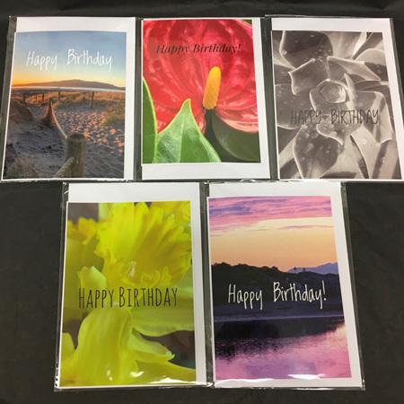 Greeting Cards - Happy Birthday -  Blank Inside