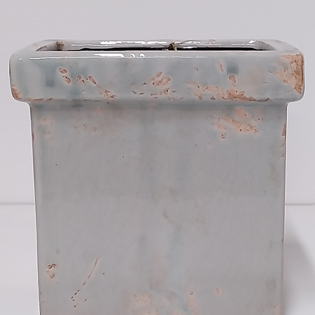 Grey Blue Oblong Container C0009