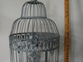 grey decorative cage wedding and event hire