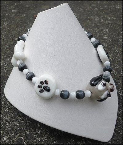 Grey Dog Bracelet