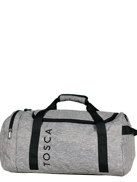Grey Roll Grip Sports Weekend Bag TCA924 40 Litres