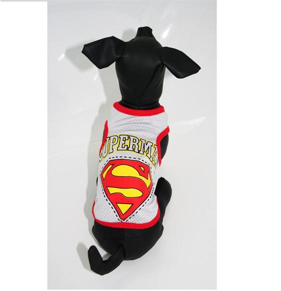 grey superman vest