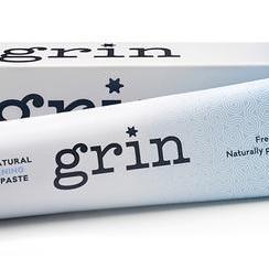 Grin whitening toothpaste