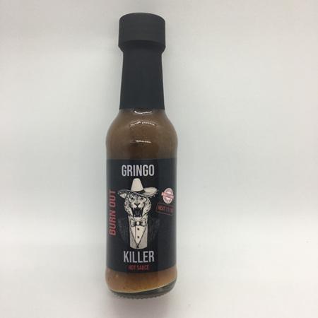 Gringo Killer Sauce - Burn Out - Trinidad Moruga Scorpion - Heat: 11/10