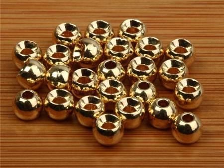 Grip Brass Beads - Gold