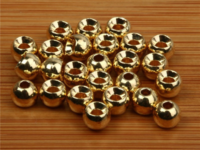 Grip Brass Beads - Gold