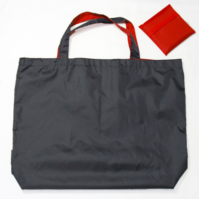 grocery pouch | navy/red
