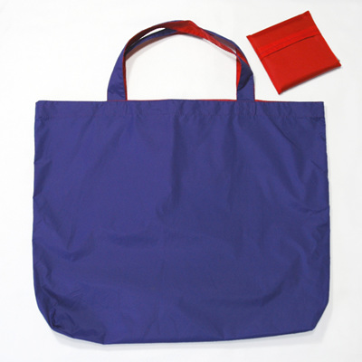 grocery pouch | purple/red