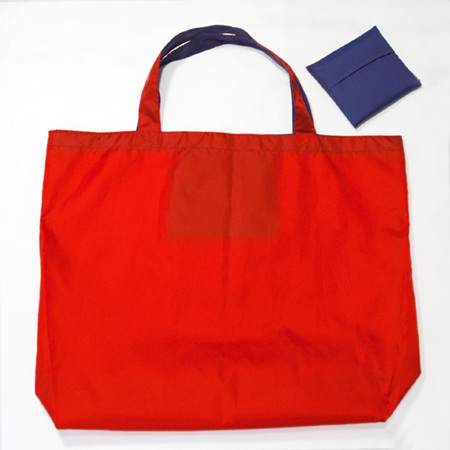 grocery pouch | red/purple